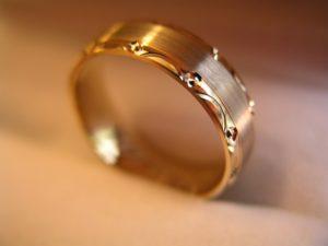 használt arany gyűrű